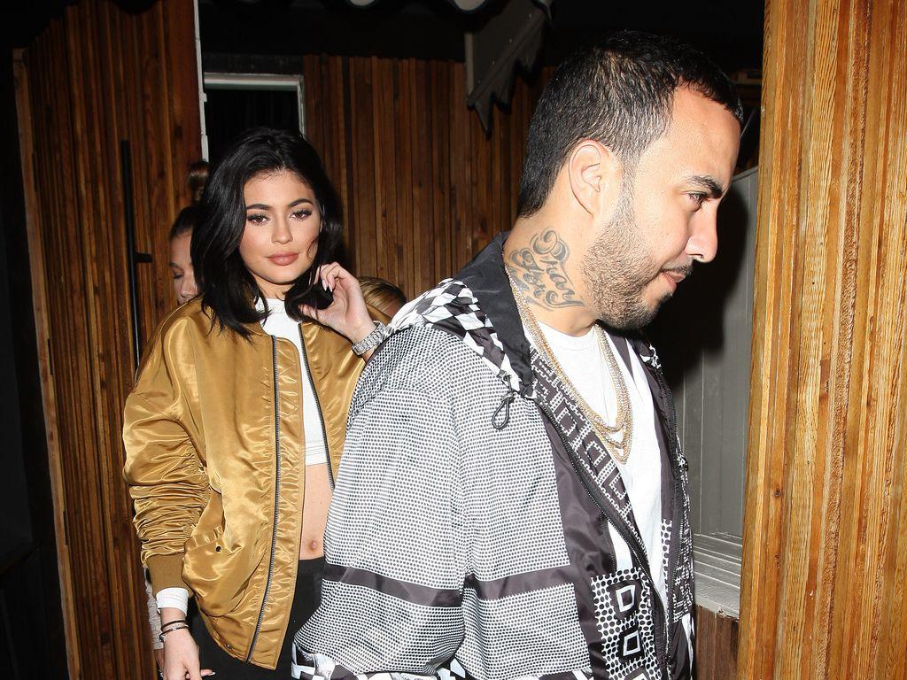 """Kylie Jenner und French Montana verlassen den """"The Nice Guy"""" Nachtclub in L.A."""
