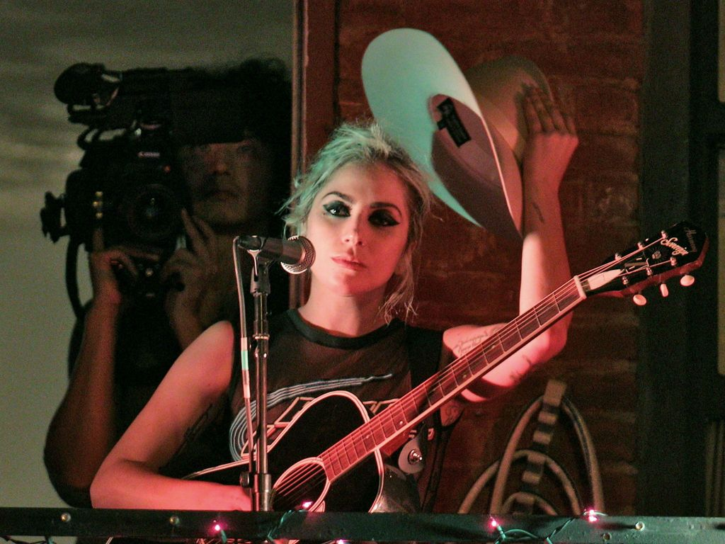 Lady GaGa 2016 bei einem Auftritt in New York