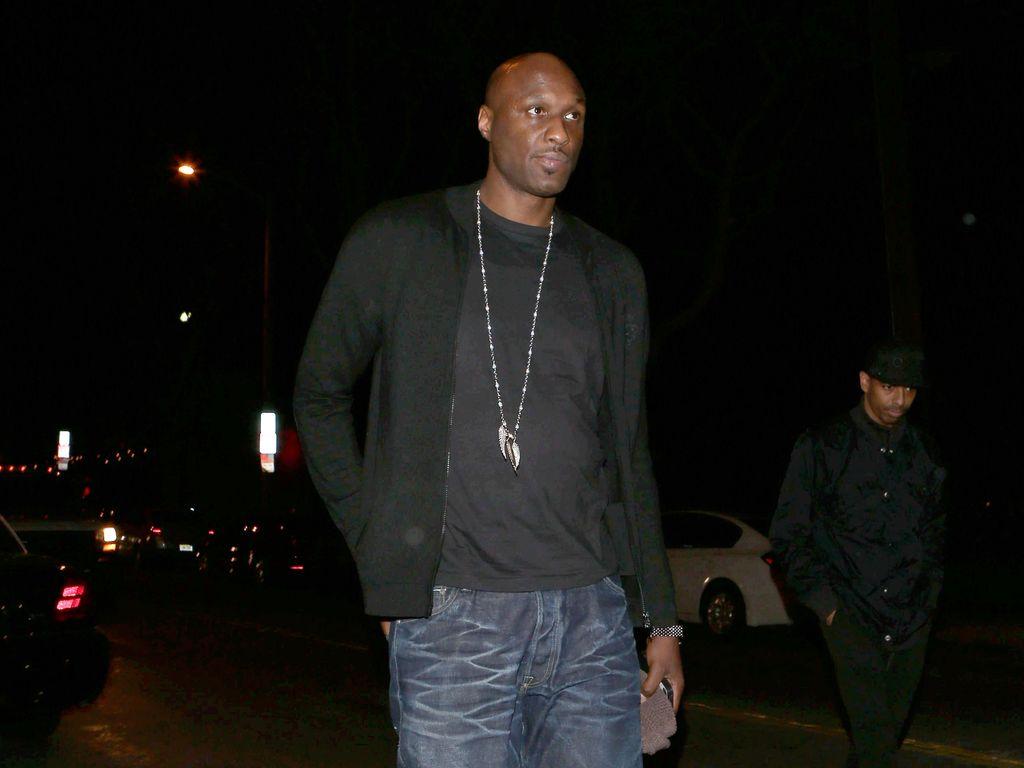 Lamar Odom in LA