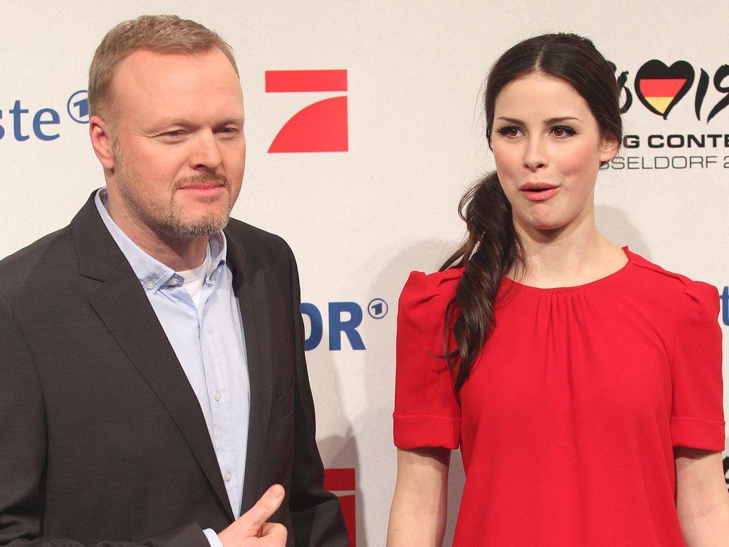 Lena dreht Mentor Stefan Raab den Rücken zu! | Promiflash.de