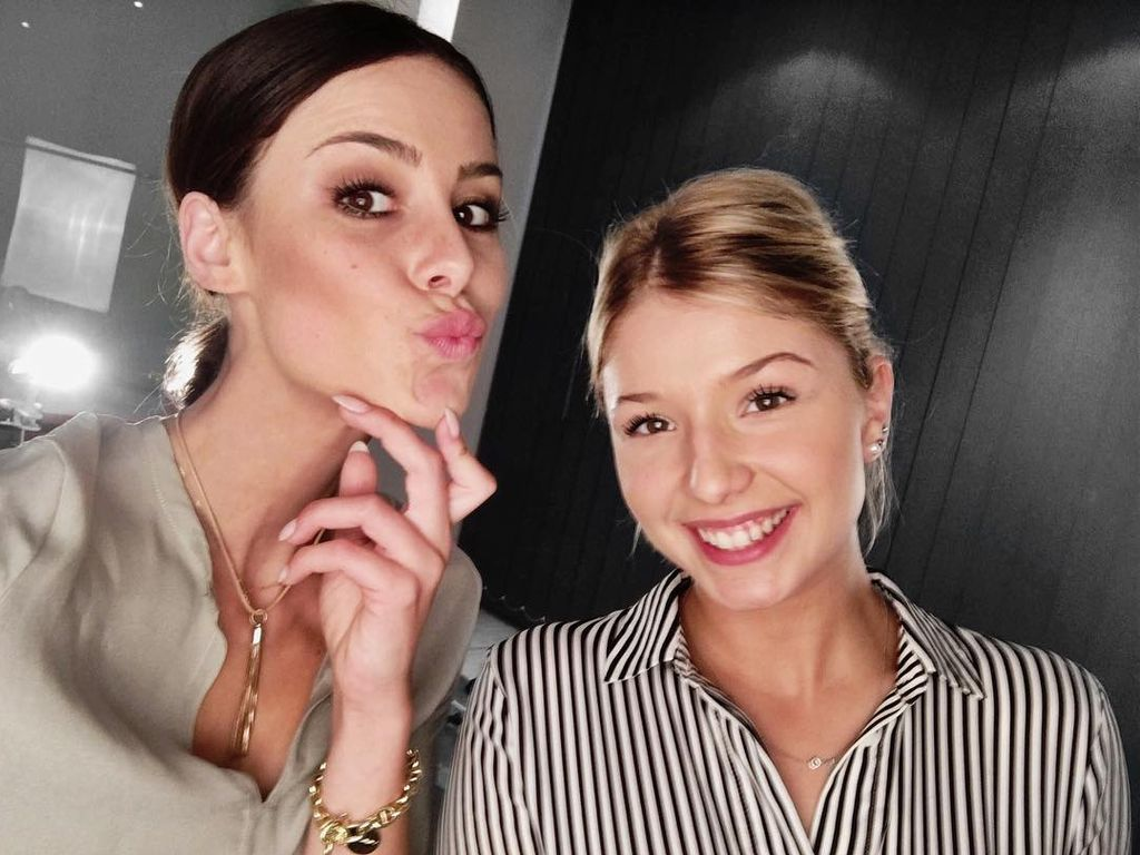 Lena Meyer-Landrut und Nicole Cross