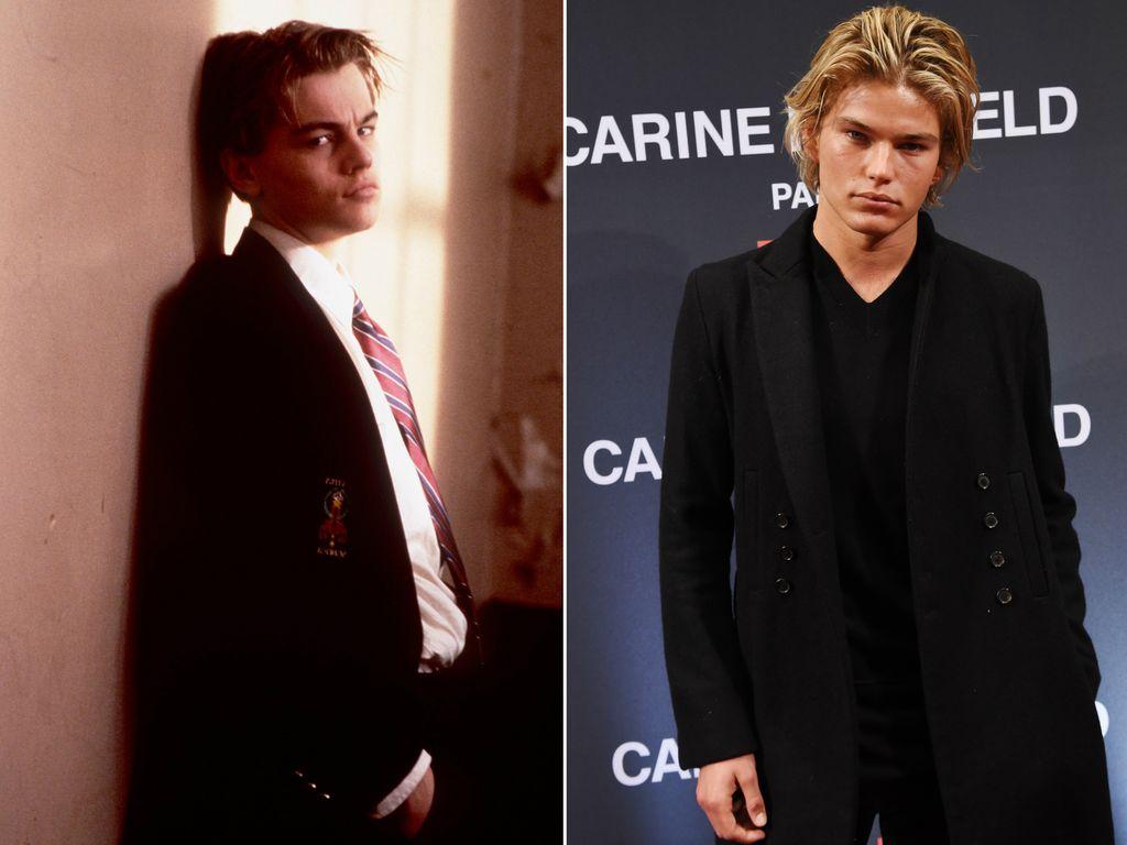 Leonardo DiCaprio und Jordan Barrett
