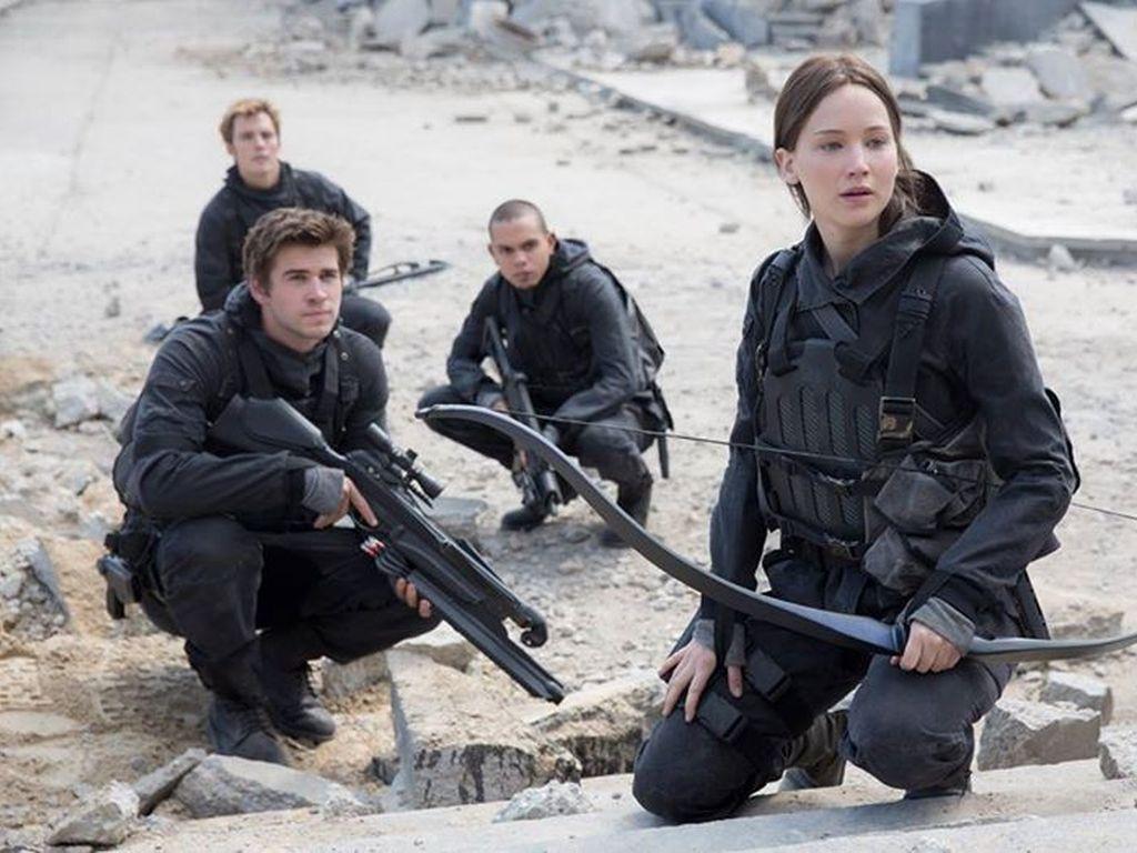 Liam Hemsworth, Hunger Games, Jennifer Lawrence, Evan Ross und Sam Claflin