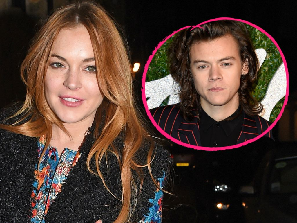 Harry Styles und Lindsay Lohan