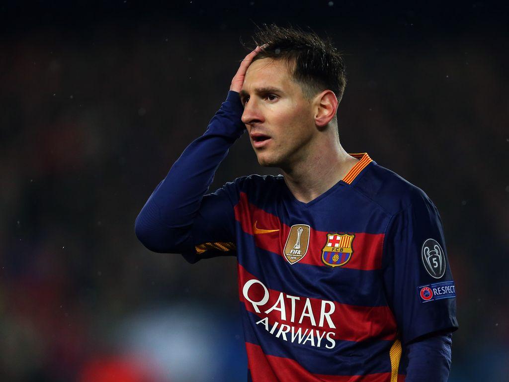 Fußball-Superstar Lionel Messi im Einsatz für den FC Barcelona