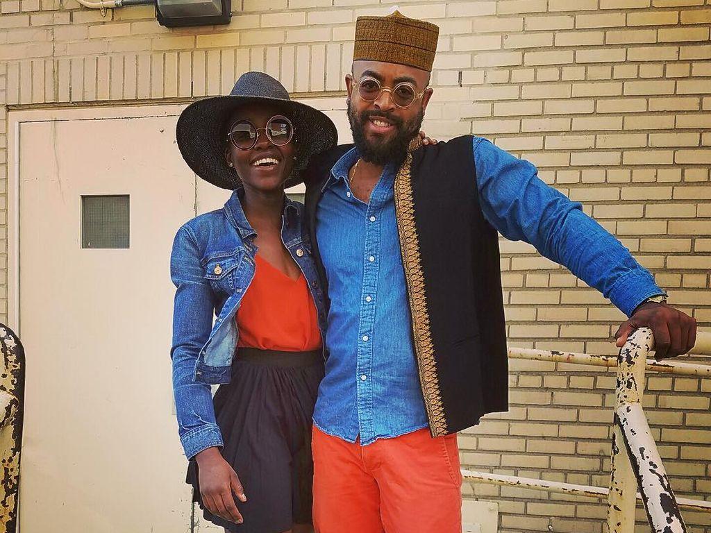 Lupita Nyong'o und Mobolaji Dawodu