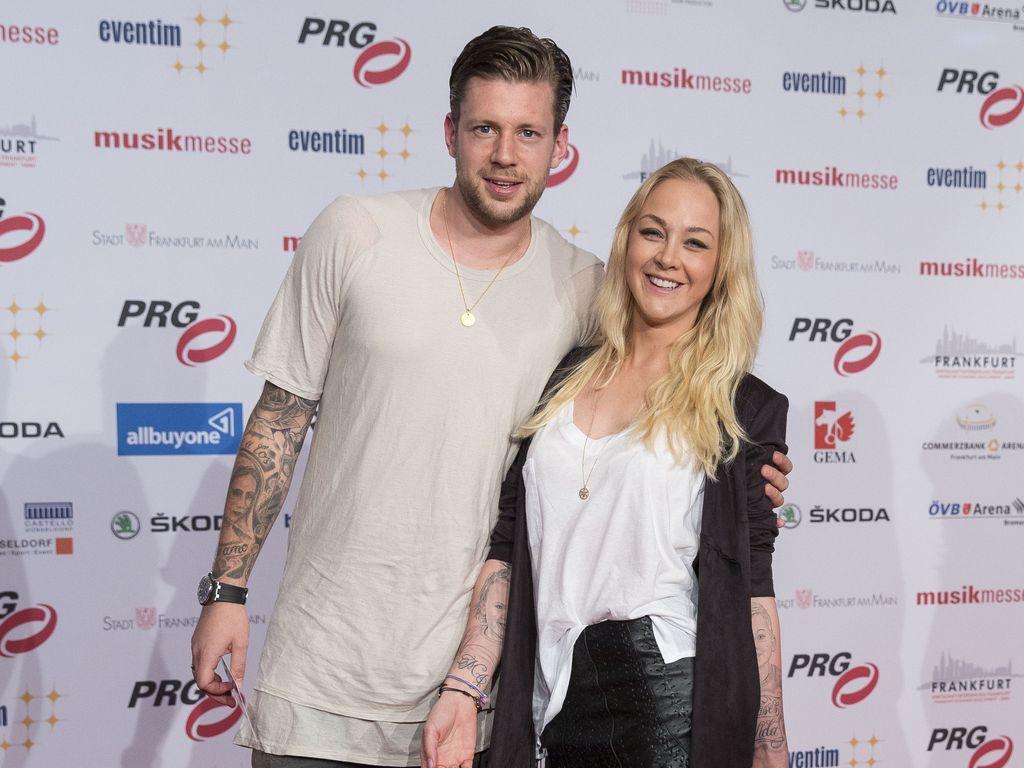 Marco Russ mit seiner Frau Janina