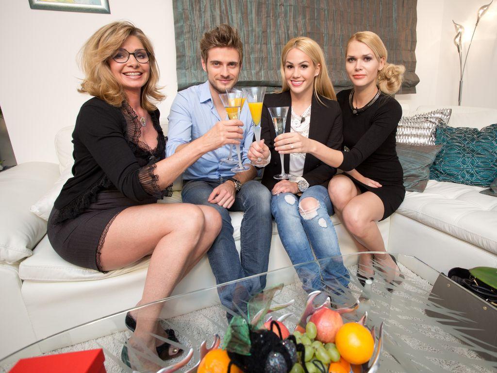 Angelina Heger, Jörn Schlönvoigt, Maren Gilzer und Sara Kulka