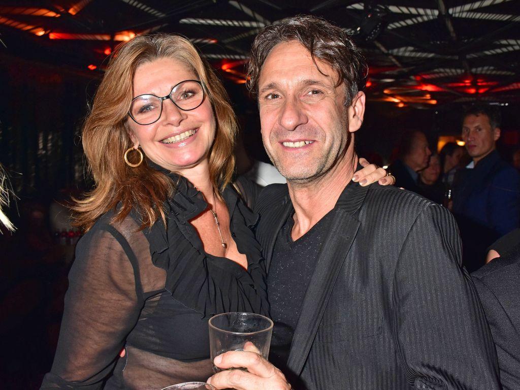 Maren Gilzer und Falk-Willy Wild im November 2016 bei der Star Press Media Night in Berlin