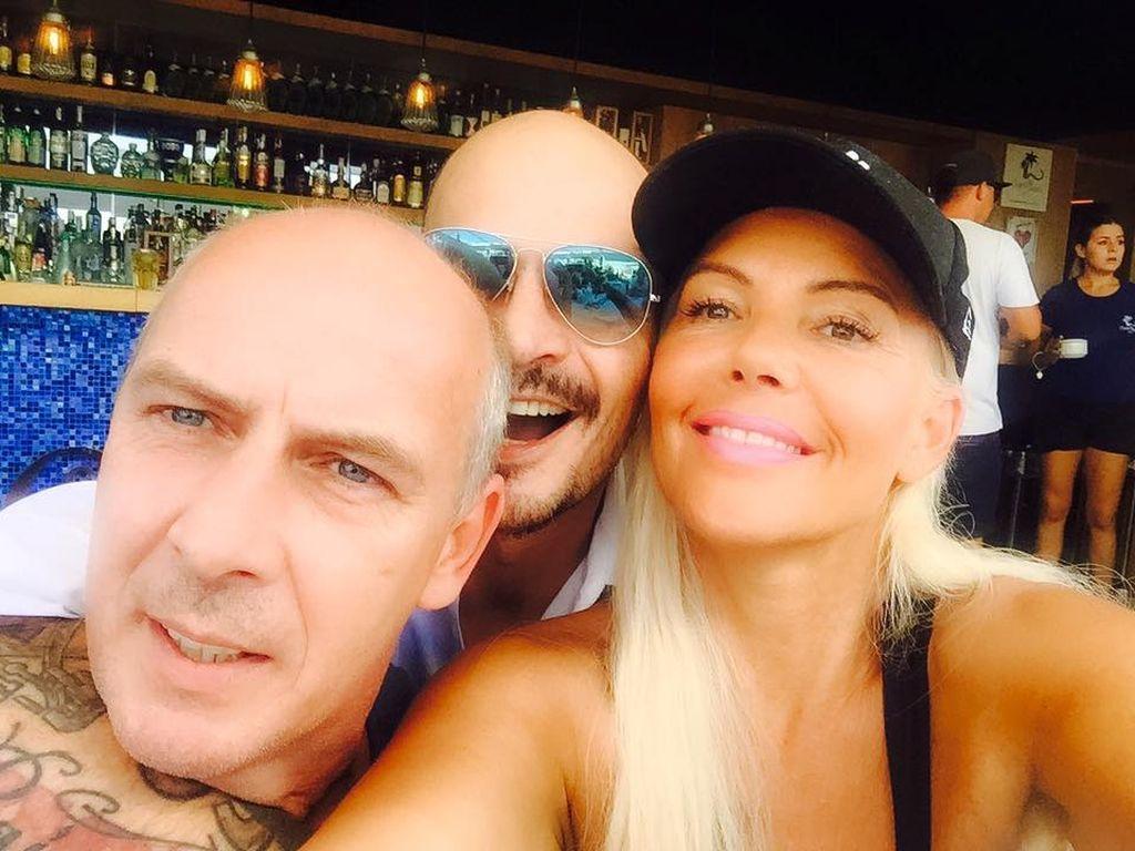 Mario Basler, Ben Tewaag und Natascha Ochsenknecht