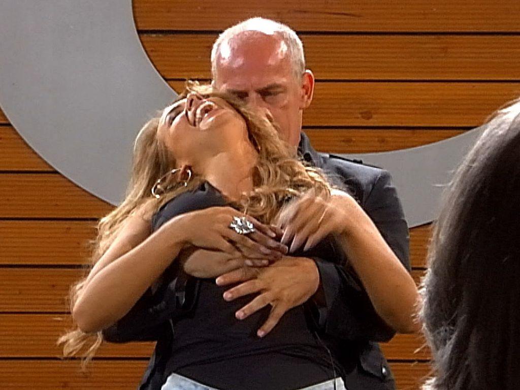 Mario Basler und Jessica Paszka bei PBB