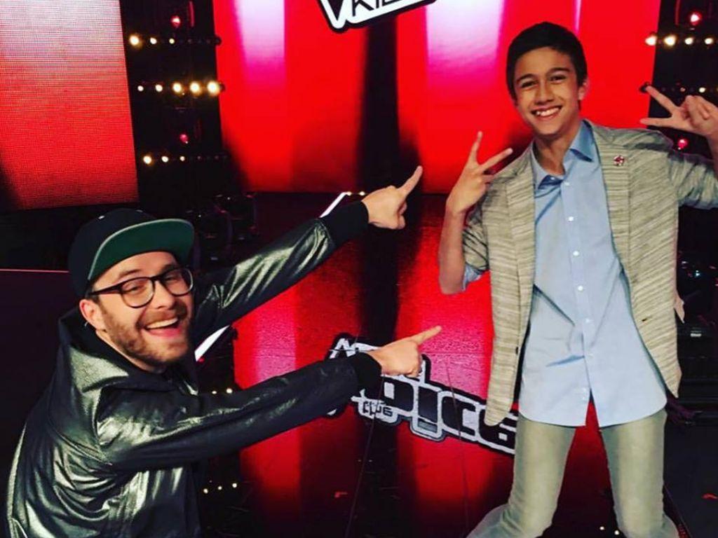 """Mark Forster und """"The Voice Kids""""-Gewinner Lukas"""