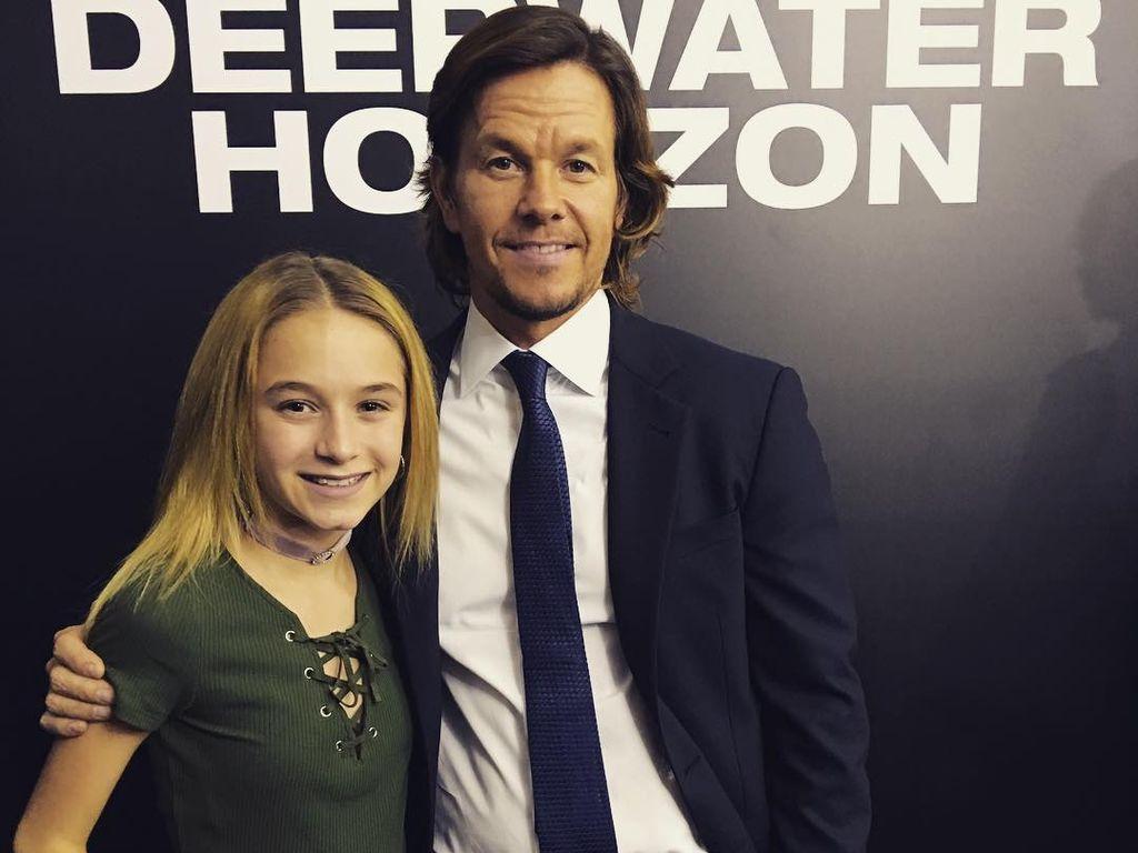 Mark Wahlberg mit seiner Tochter Ella