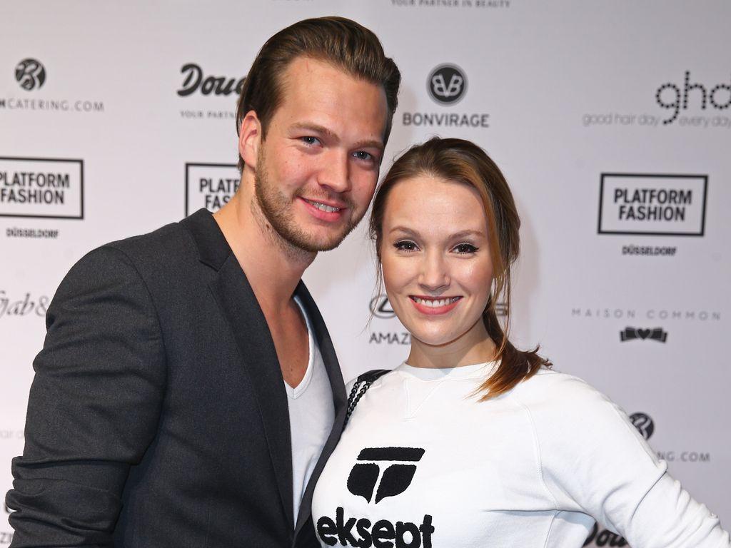 Marvin Albrecht und Anna Hofbauer bei Platform Fashion in Düsseldorf