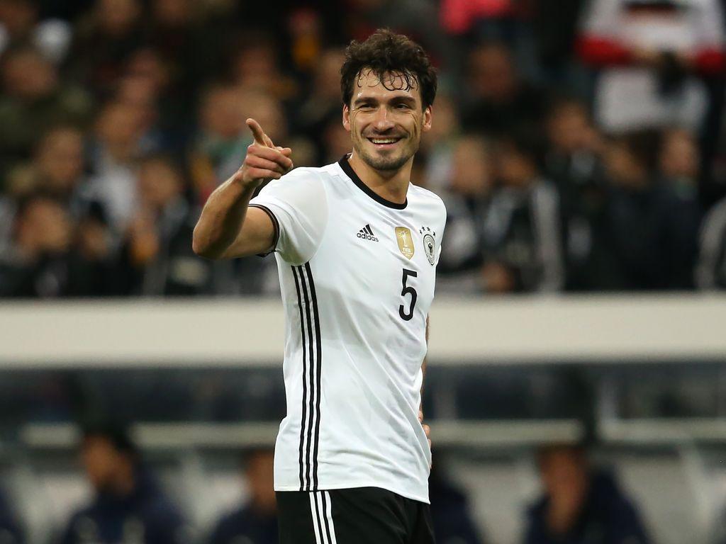 Mats Hummels im Trikot der Deutschen Nationalmannschaft