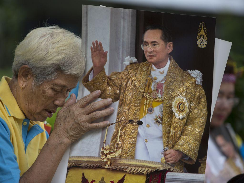 Trauer um König Bhumibol aus Thailand