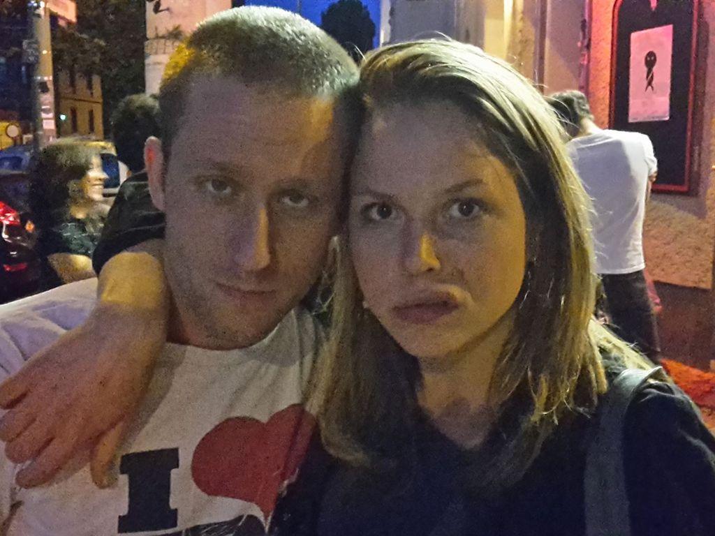 Merlin Leonhardt und Franziska van der Heide