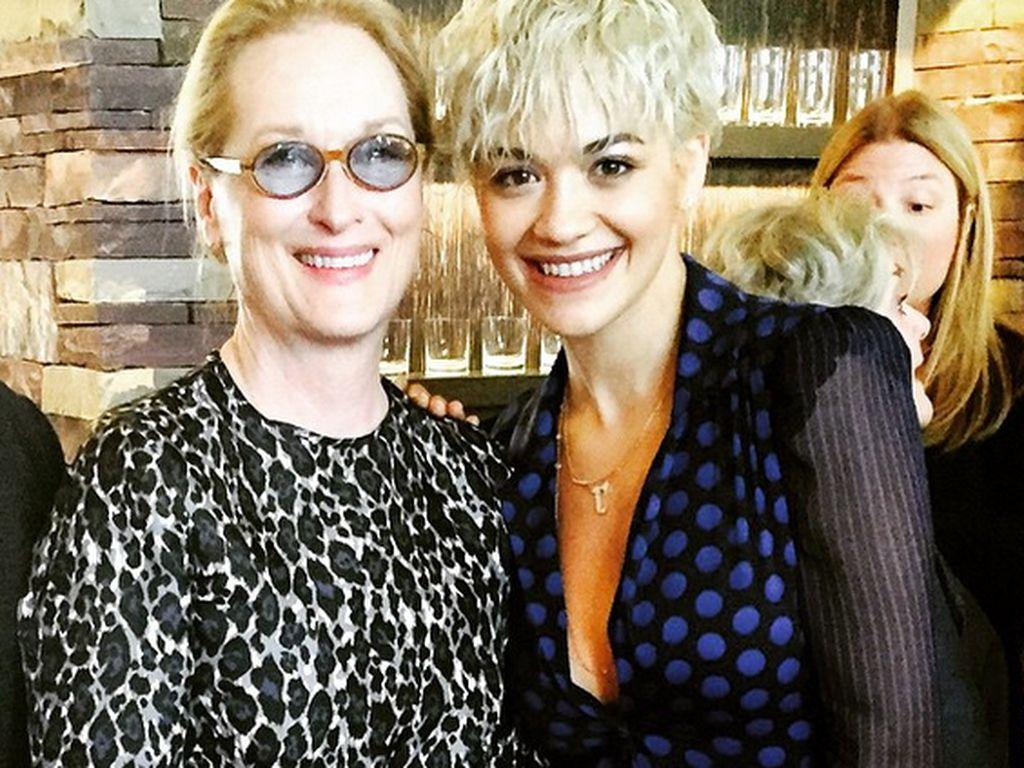 Rita Ora und Meryl Streep