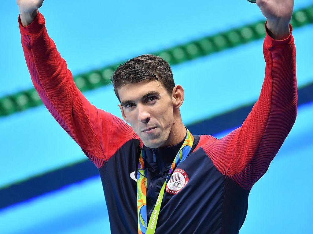 Michael Phelps an Tag 4 bei den Olympischen Spielen in Rio