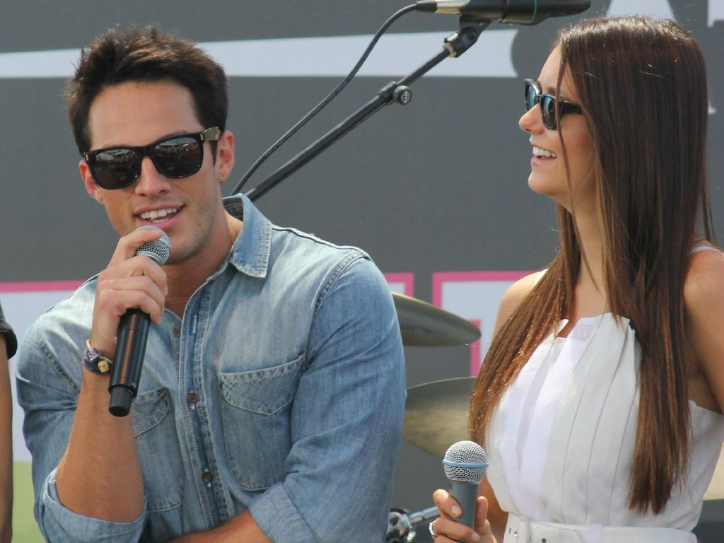 michael trevino and nina dobrev dating one of the cast