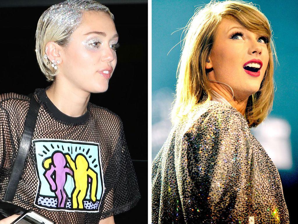 Taylor Swift und Miley Cyrus