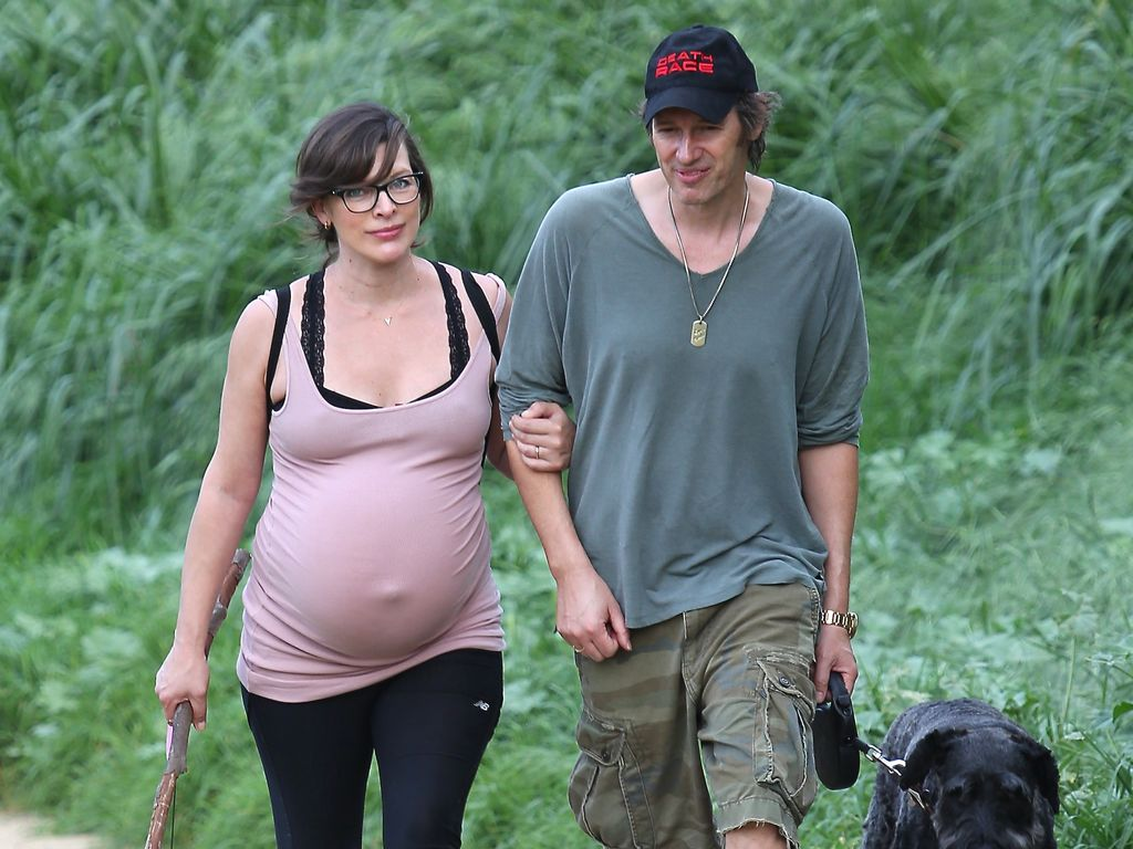 Milla Jovovich und Paul William Scott Anderson