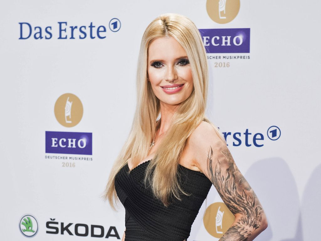 Mirja du Mont bei den Echo Awards 2016