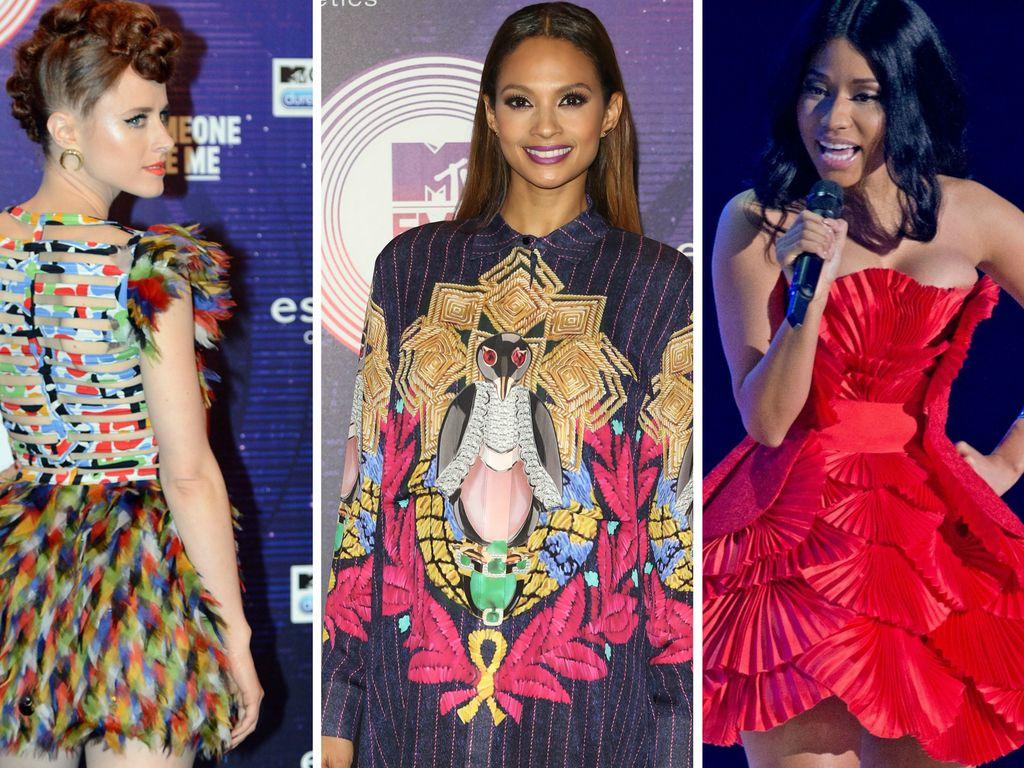 Nicki Minaj, Kiesza und Alesha Dixon
