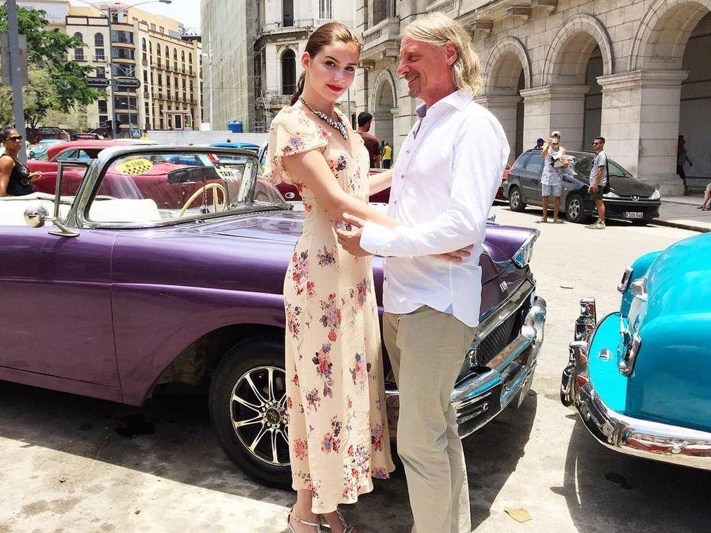 Nathalie Volk & Frank Otto in ihrem 1. Liebesurlaub in Kuba