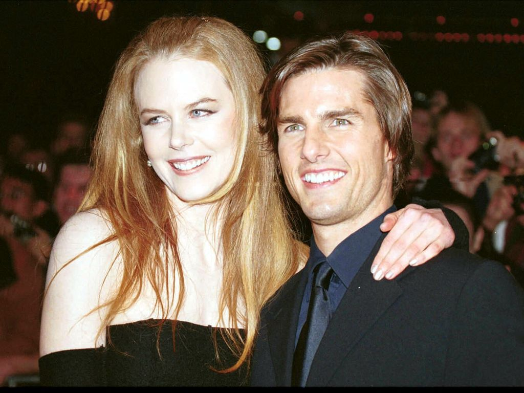 """Nicole Kidman und Tom Cruise im August 1999 bei der Premiere von """"Eyes Wide Shut"""" in Los Angeles"""