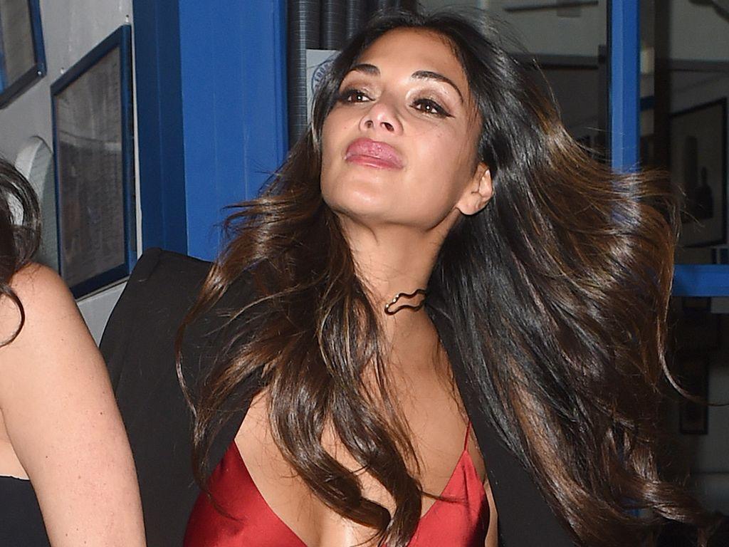 Nicole Scherzinger nach einem Restaurantbesuch in London