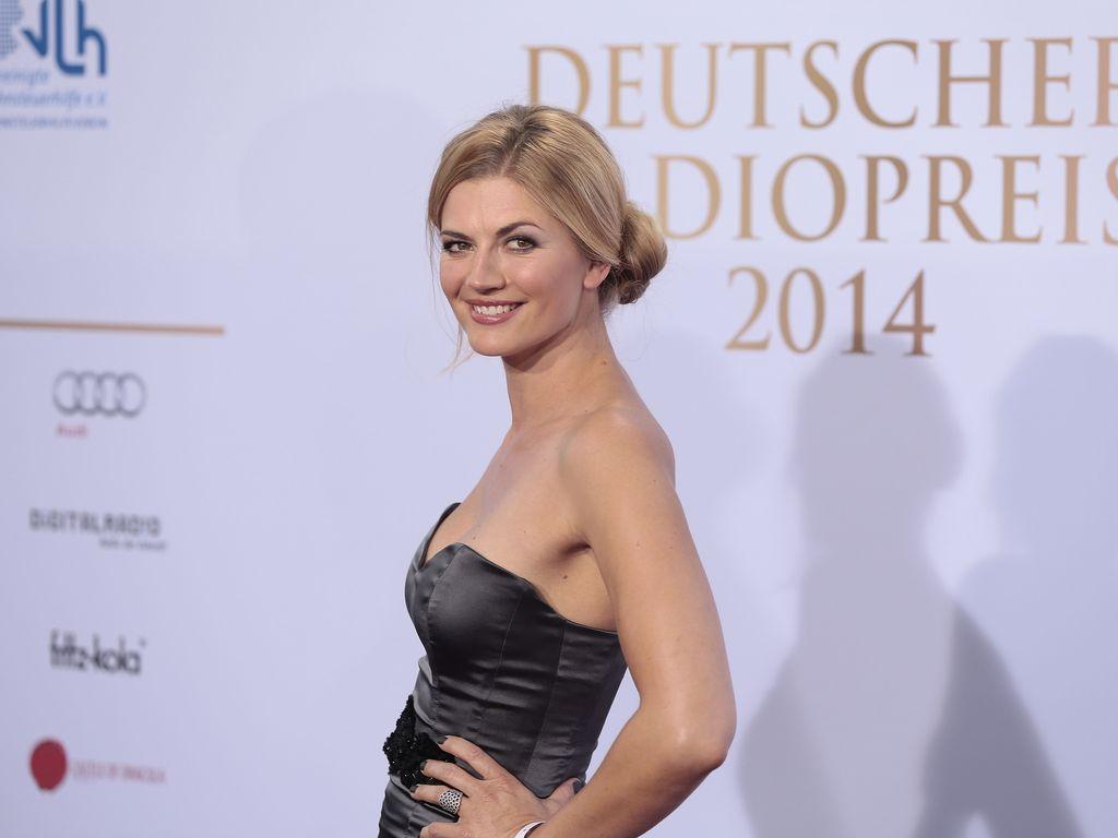 """Nina Bott beim """"Deutschen Radiopreis 2014"""" in Hamburg"""