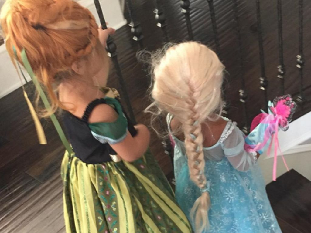 "North West verkleidet als ""Frozen""-Prinzessin Elsa"