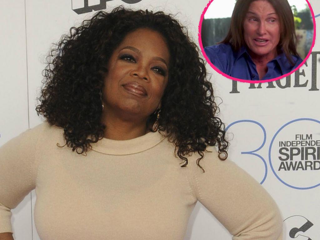 Bruce Jenner und Oprah Winfrey