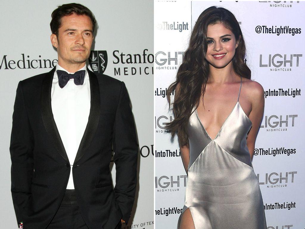 Selena Gomez und Orlando Bloom
