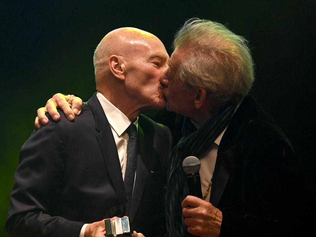 Patrick Stewart und Sir Ian McKellen, Schauspieler