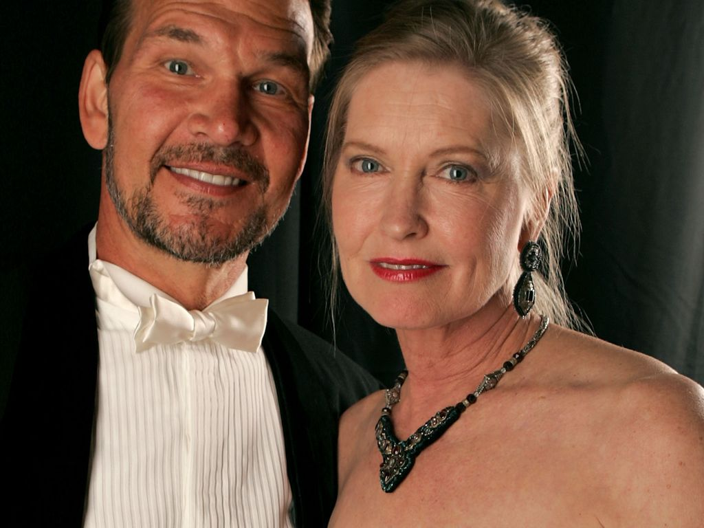 "Patrick Swayze und Lisa Niemi bei den ""Costume Designers Guild Awards"" 2007"