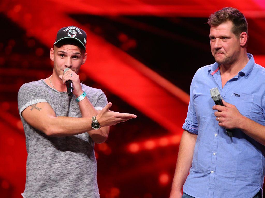 """Pietro Lombardi und Marvin Steven Friedl bei """"Das Supertalent"""""""