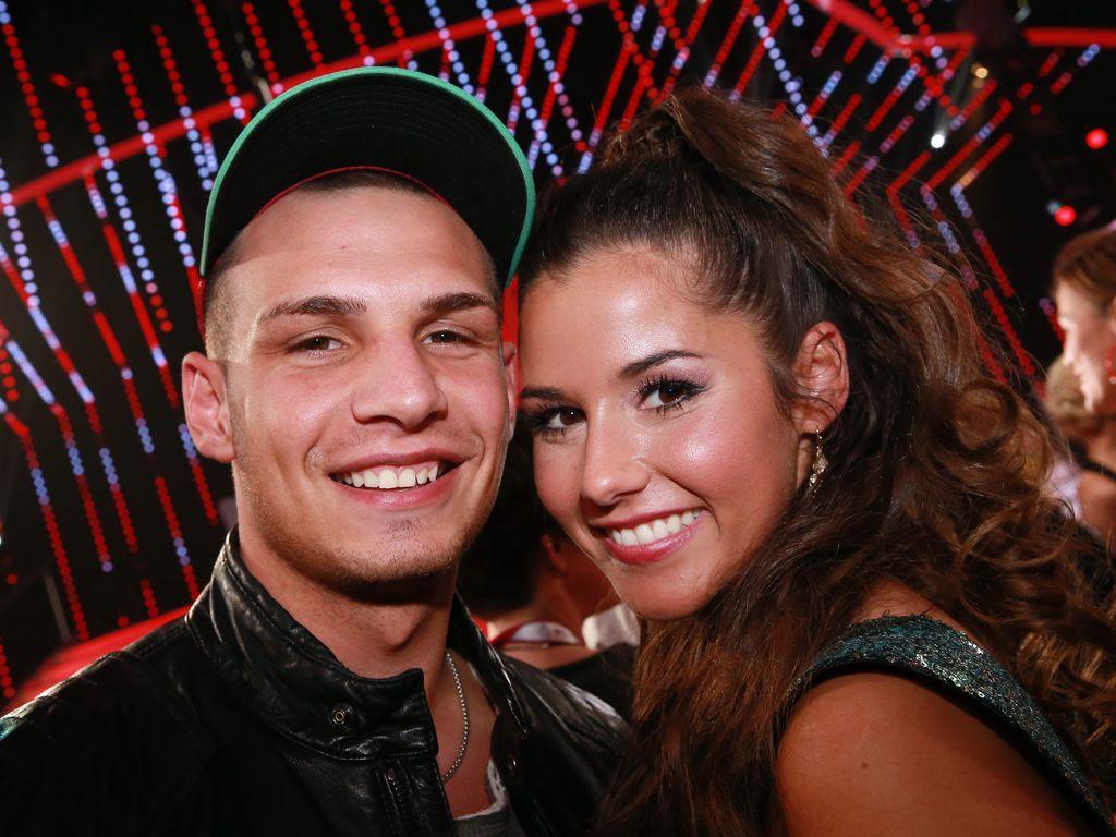 "Pietro und Sarah Lombardi bei ""Let's Dance"" 2016"