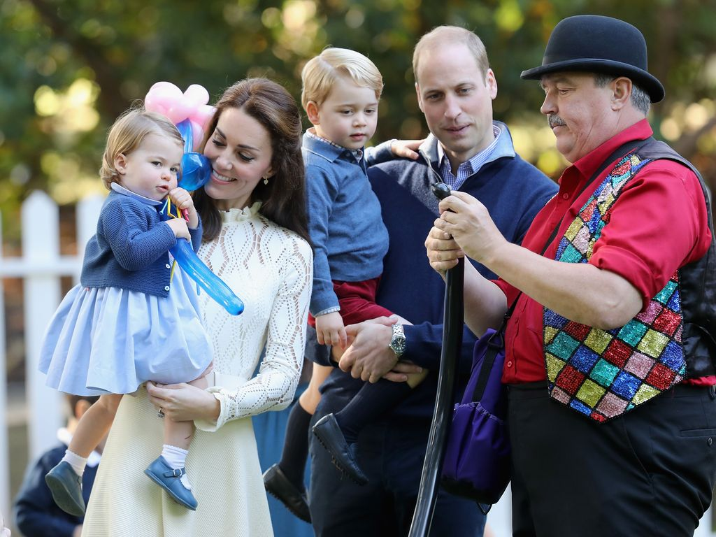 "Die britischen Royals beim ""Children's Party of Military families""-Event in Kanada"