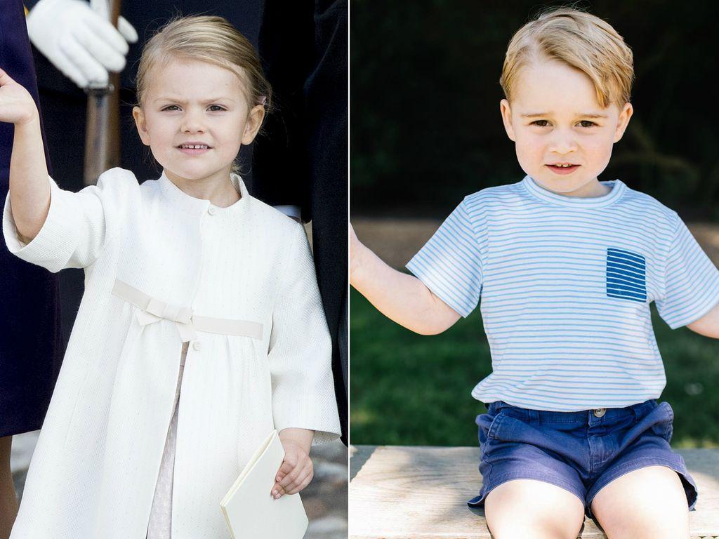 Prinzessin Estelle und Prinz George