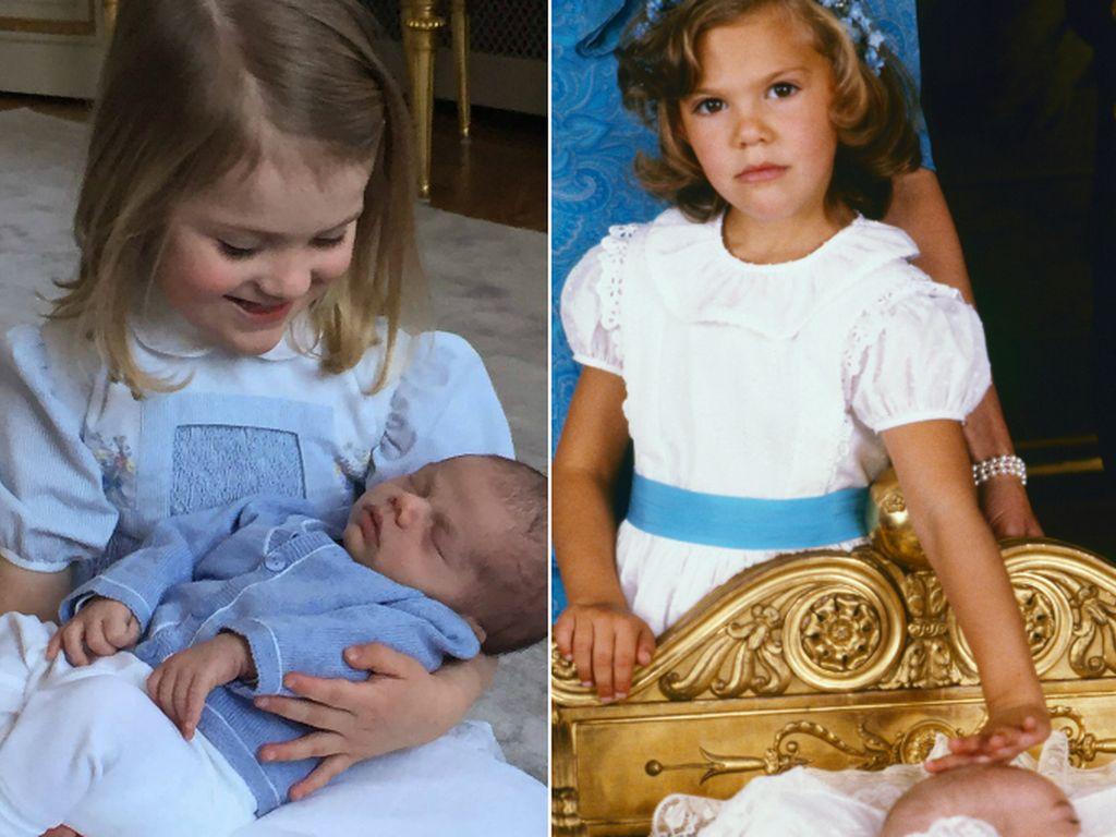 Madeleine von Schweden, Prinzessin Estelle von Schweden und Prinzessin Victoria von Schweden