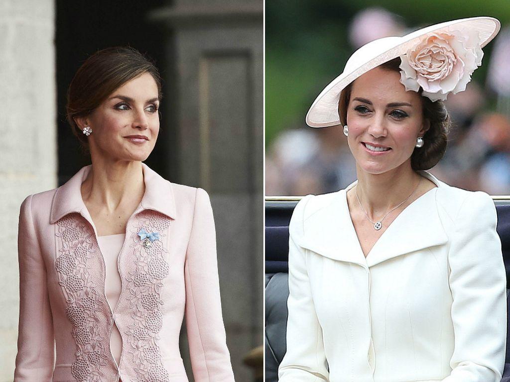 Prinzessin Letizia von Spanien und Herzogin Kate
