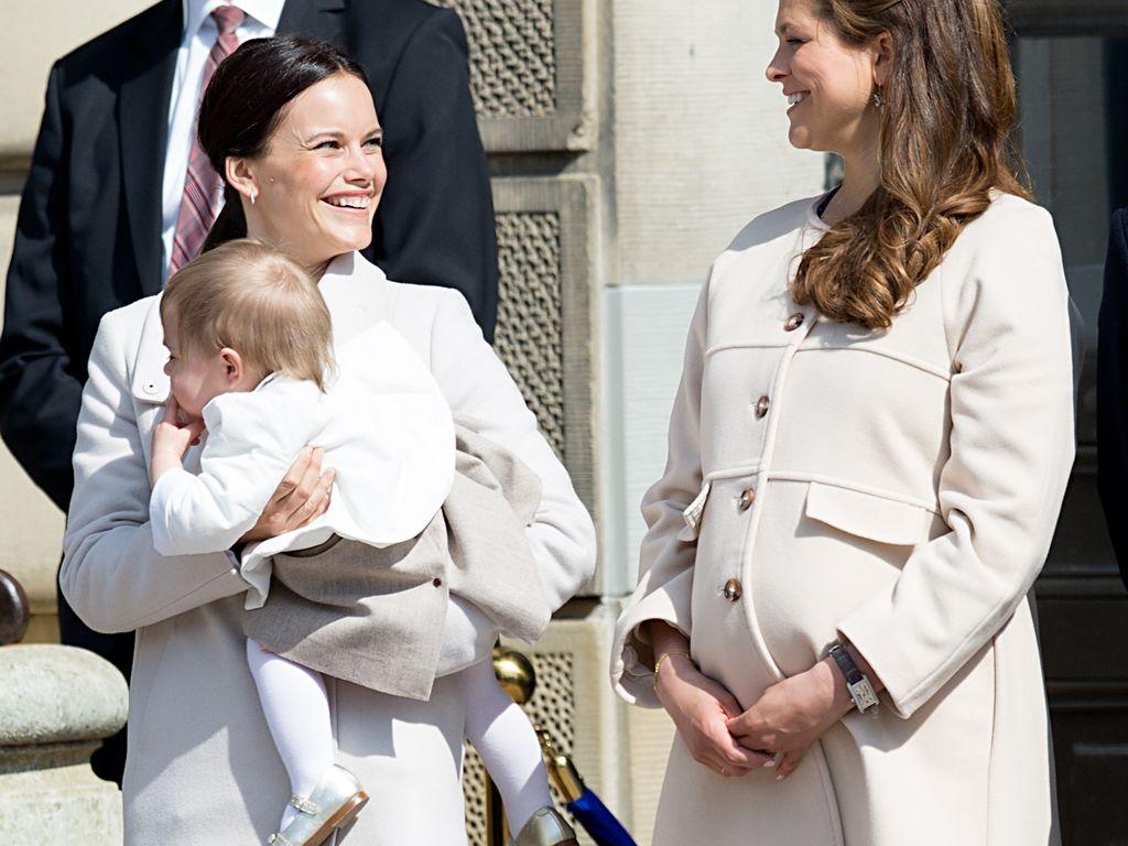 Prinzessin Leonore von Schweden, Madeleine von Schweden und Sofia Hellqvist