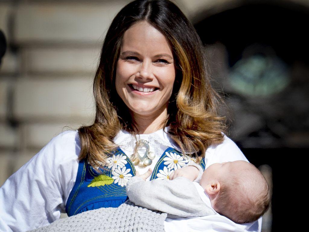 Prinzessin Sofia und Prinz Alexander am schwedischen Nationalfeiertag