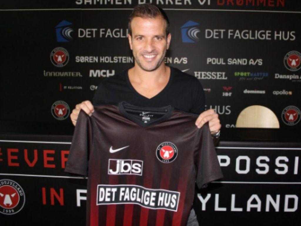 Fußball-Star Rafael van der Vaart