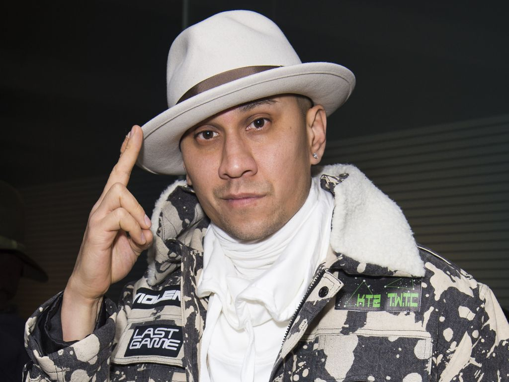 Rapper Taboo alias Jaime Luis Gomez