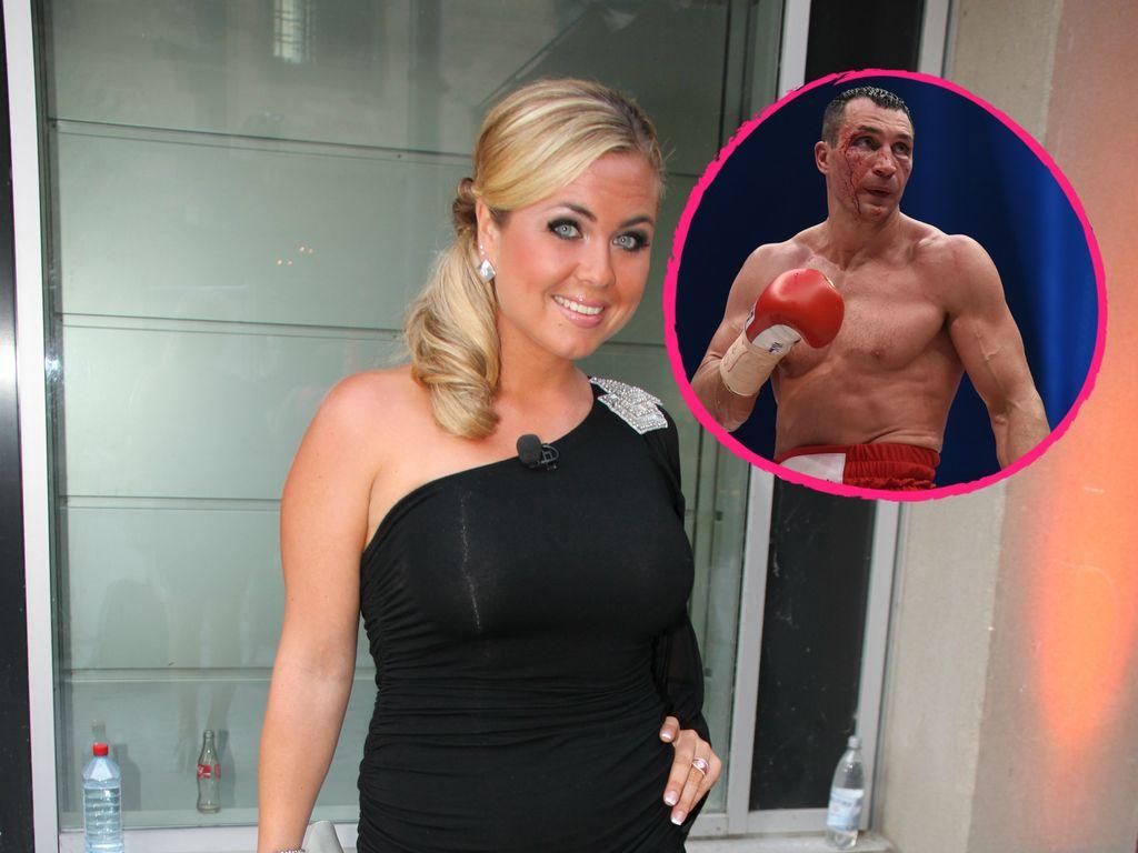 Wladimir Klitschko und Rebecca Kratz
