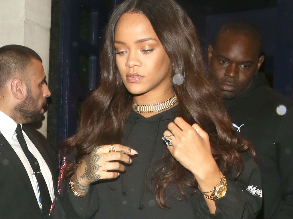 Rihanna in London