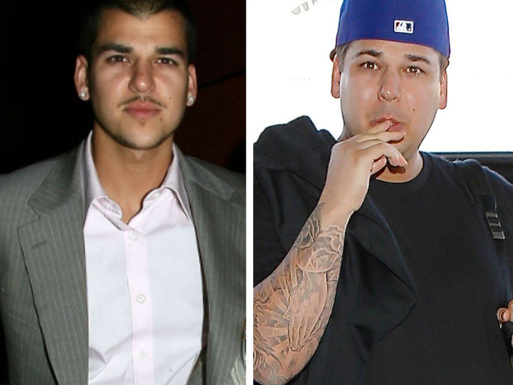 Robert Kardashian 2008 und 2014